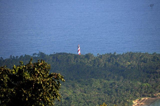 Light House in North Bay Island, the one behind  20 rupees note