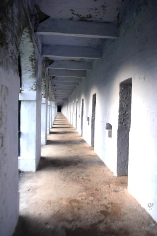 Corridor at the Infamous Cellular Jail