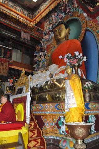 Inside Tawang Monastery