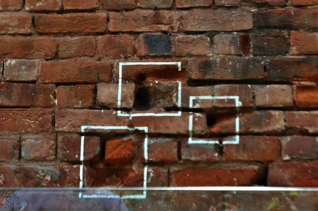 The Bullet marks on the wall at Jallianwala Bagh