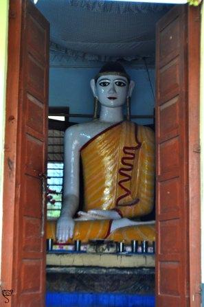 Lord Buddha at Mahamuni