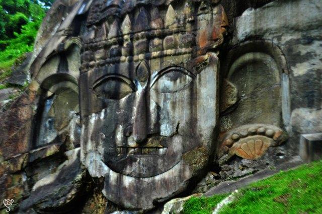 Lord Shiva, Unakoti