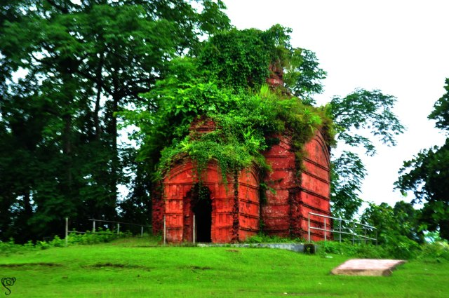 Ancient temple near the Rajbari