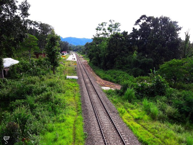 The original S.K. Para Station at a distance