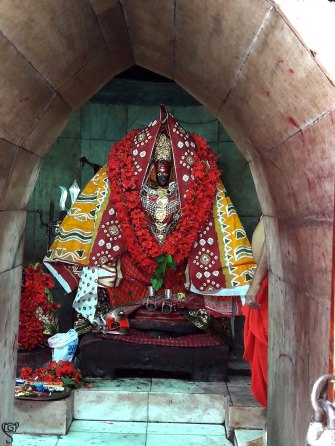 The Deity of Tripura Sundari Temple