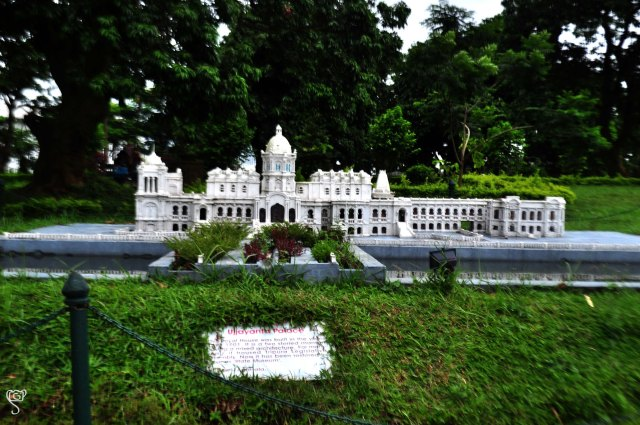 The miniature Ujjayanta Palace