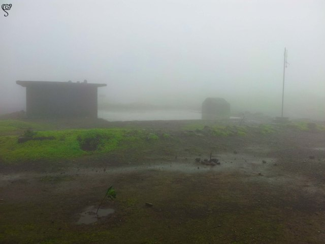 The temple at the top of the fort