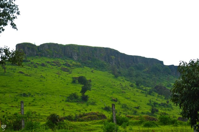 The Sajjangad Fort