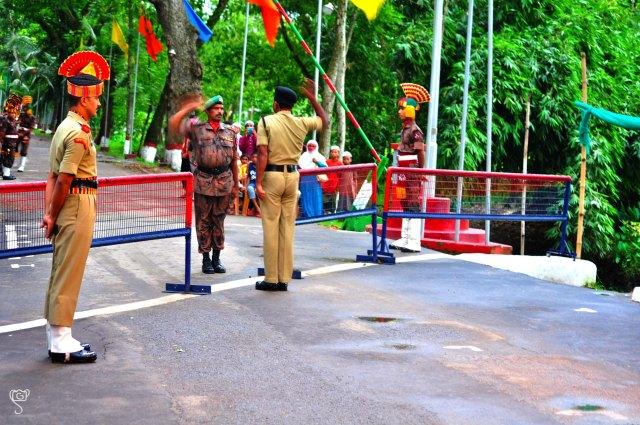Tha parade ceremony