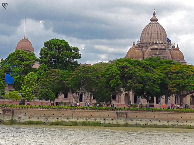 Belur Math, captured from the boat