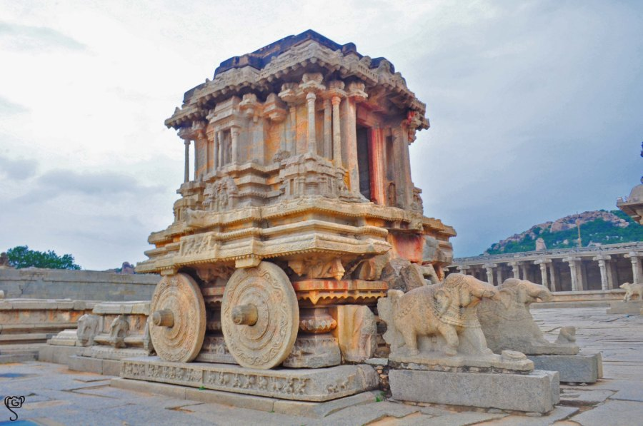 The iconic stone chariot of Vittala Temple