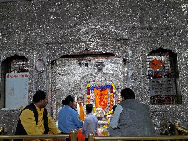 Khajrana Ganesh deity