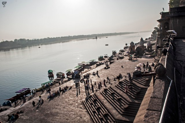 The Narmada Ghat