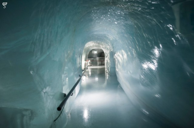 The Icy tunnel to the ice museum