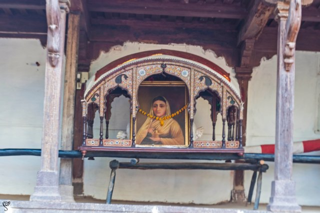 Devi Ahilya in her palanquin