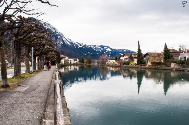 The beautiful waterbody in Interlaken