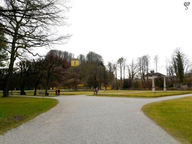 The Museum on a hillock in Hellbrunn Garden