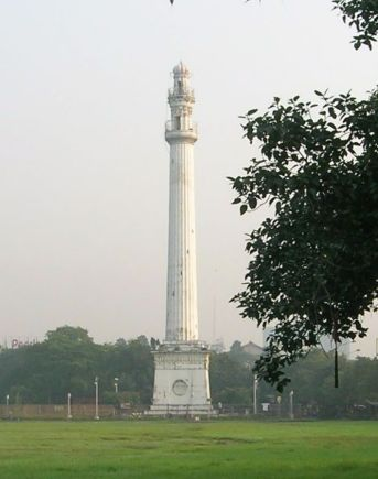 Sahid Minar P.C: https://en.wikipedia.org/wiki/Shaheed_Minar,_Kolkata
