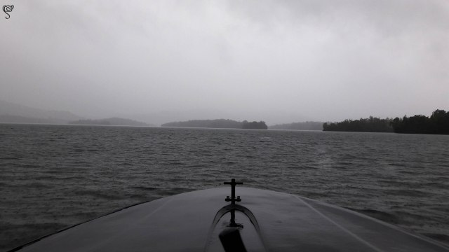 And we head towards the deep... I mean the lake