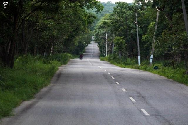The road again