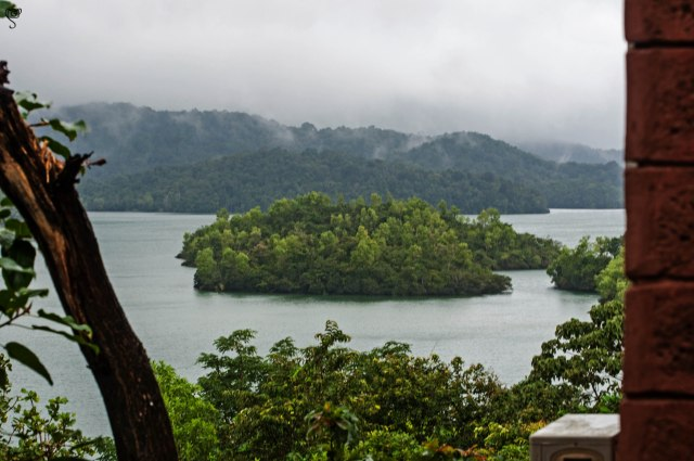 The islands of the lake