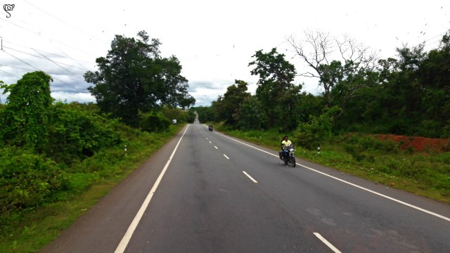The road from Shimoga to Jog Falls