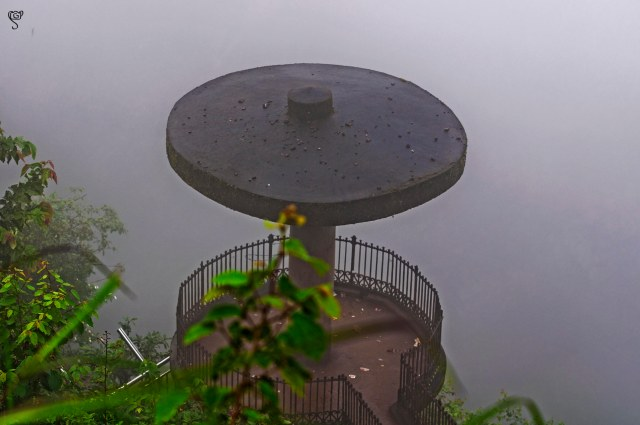 The view point in the mist