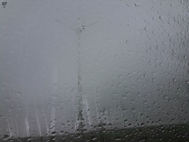 The rain and the windmill