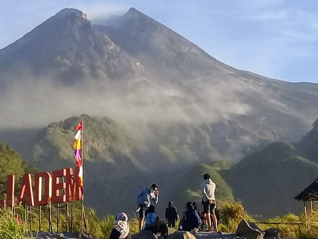 Mt Merapi taken captured from the bunker spot PC: Guide