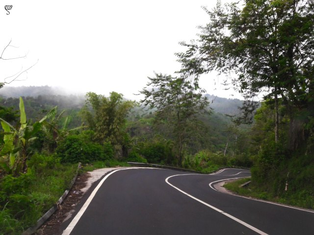 The hilly roads to the hills