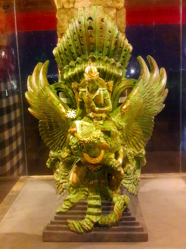 Replica of the statue that is supposed erected at GWK as the iconic symbol of Bali