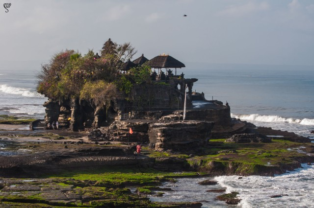Early morning view of the Pura Tanah Lot