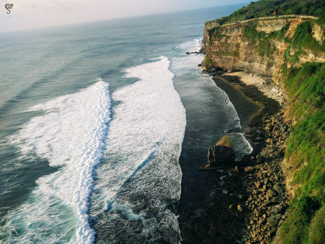I could not stop admiring the amazing landscape at Uluwatu