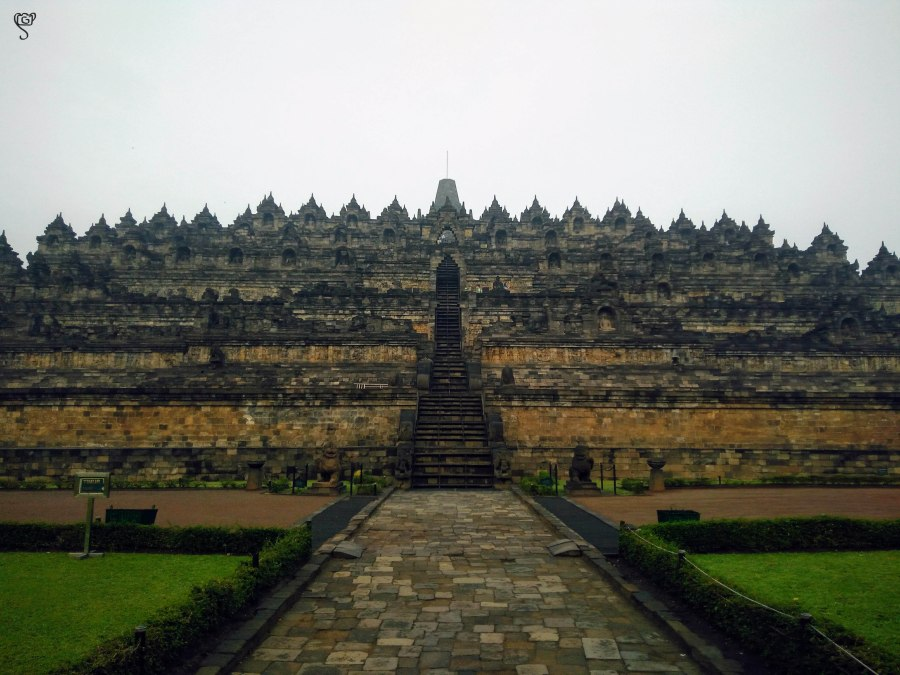The Magestic Borobudur Temple