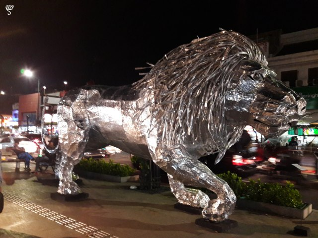 The Lion at Malioboro Street
