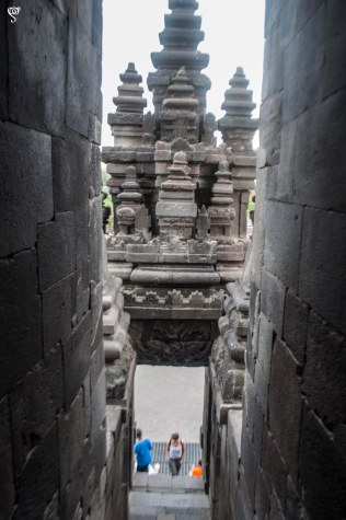 The stairs ways in the temple