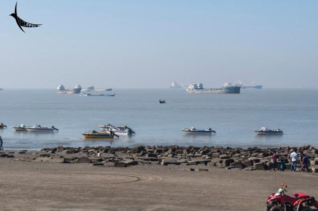Patenga beach also called Naval 1