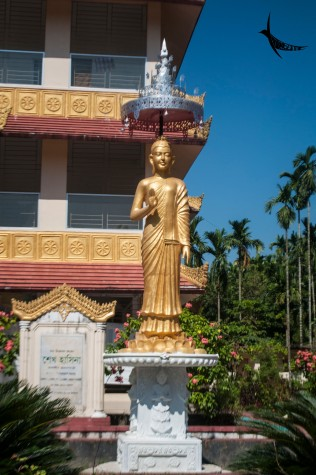 Statue of Buddha in Sima Bihar