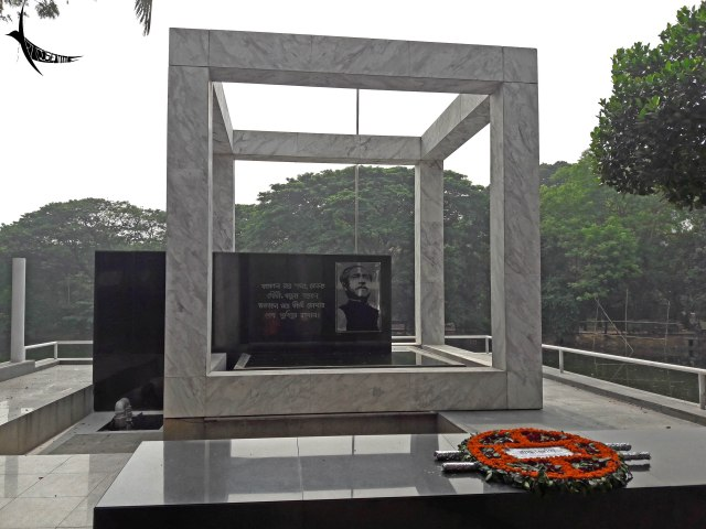 Sheik Mujibar memorial near his residence at Dhanmondi