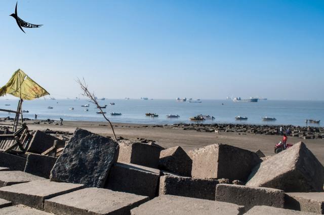 The Patenga beach