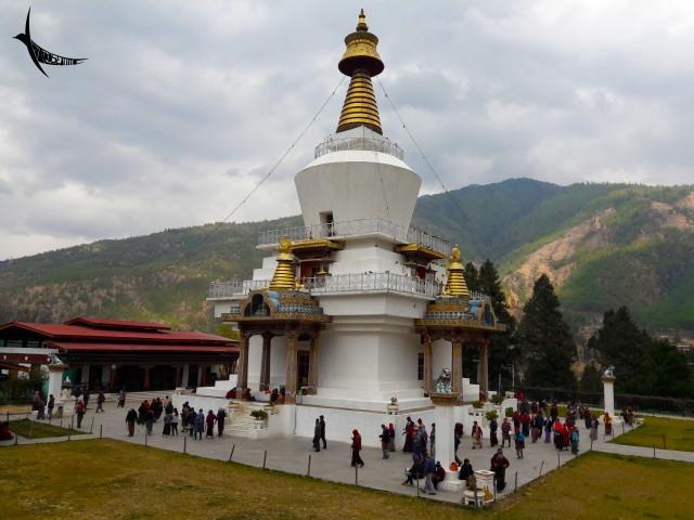 Memorial Chorten - The memorial stupa built to honour the third king