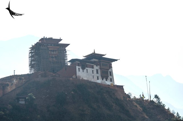 The Wandue Phodrang Dzong