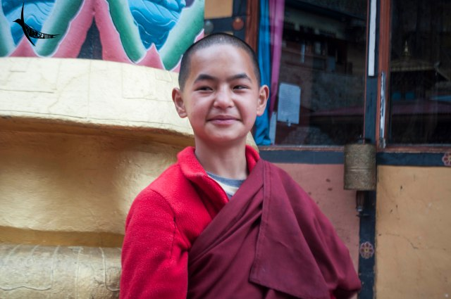 The curious little lady monk in Zilukha Nunnery