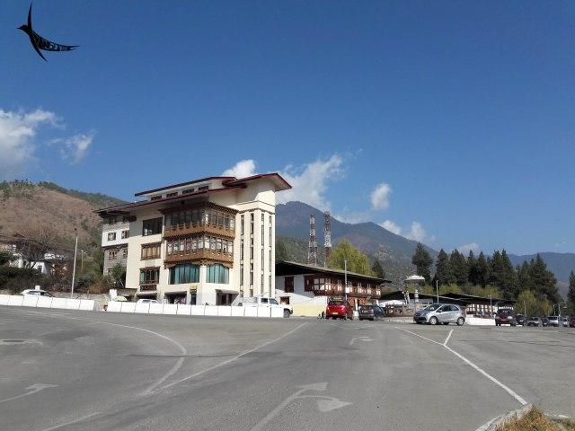 Thimphu city roads
