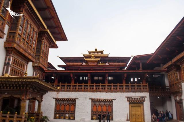 Third Courtyard of Punakha Dzong
