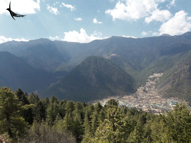 Miri Punsum with the Haa valley