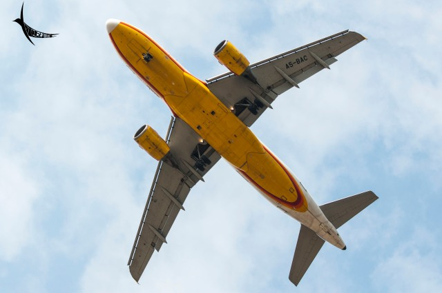 The Druk Air Flight nearing the Paro Airport
