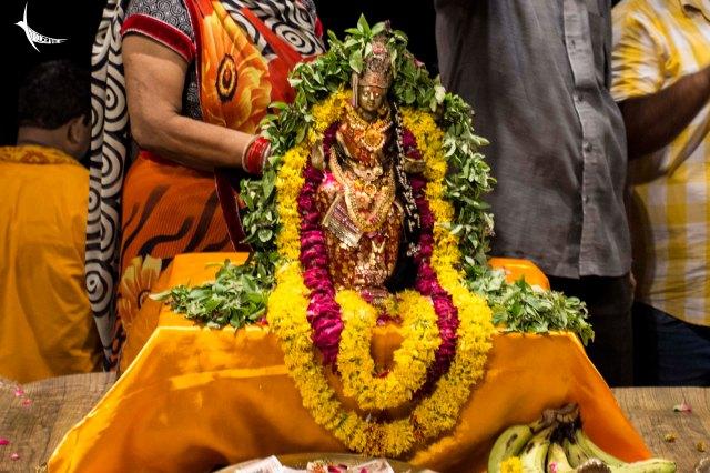 The idol of Goddess Ganga