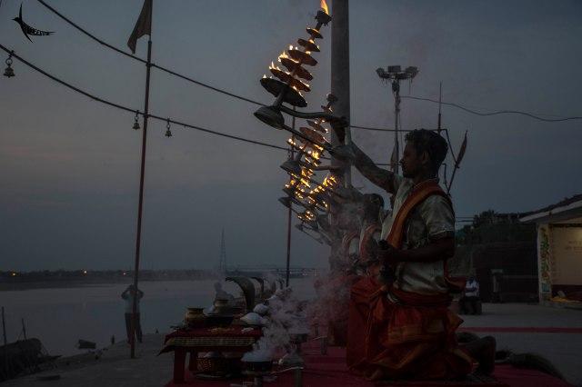 Ganga aarti in Assi Ghat