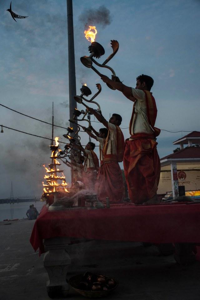 Morning Ganga Aarti in Assi Ghat